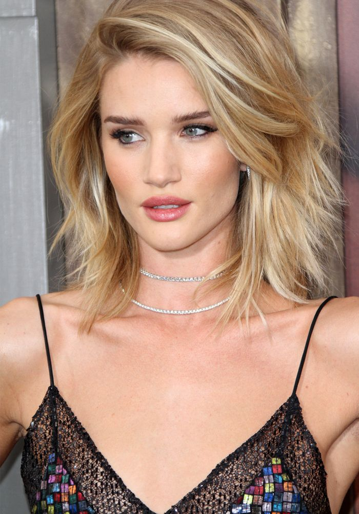 Rosie Huntington-Whiteley Strips Down to a Towel After Attending Her Movie Premiere in Louboutin