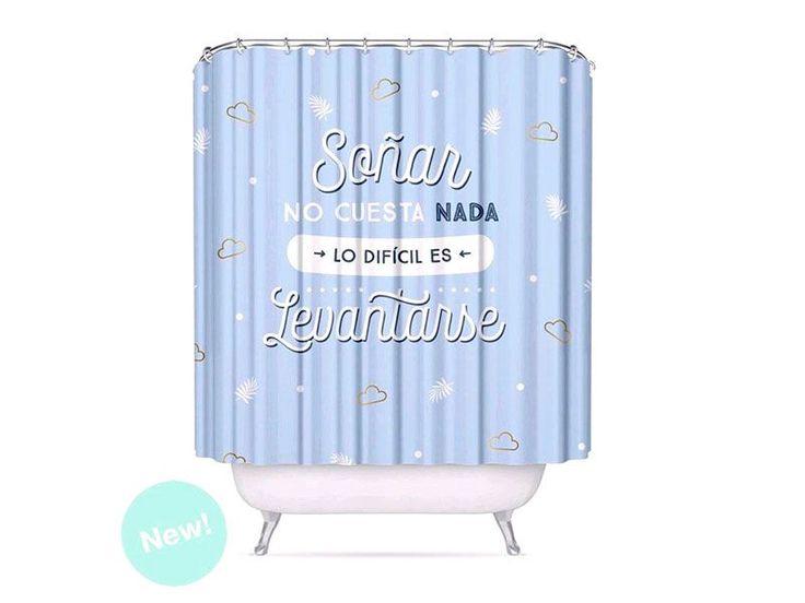 #cortinas para #baño #original https://www.catayhome.es/categoria/cortinas-de-bano/