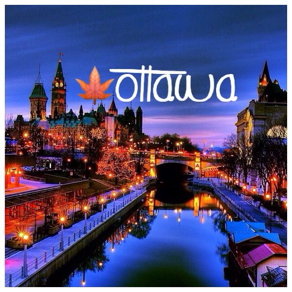 Ottawa- A truly romantic place to walk at night!! I've done it many times :)
