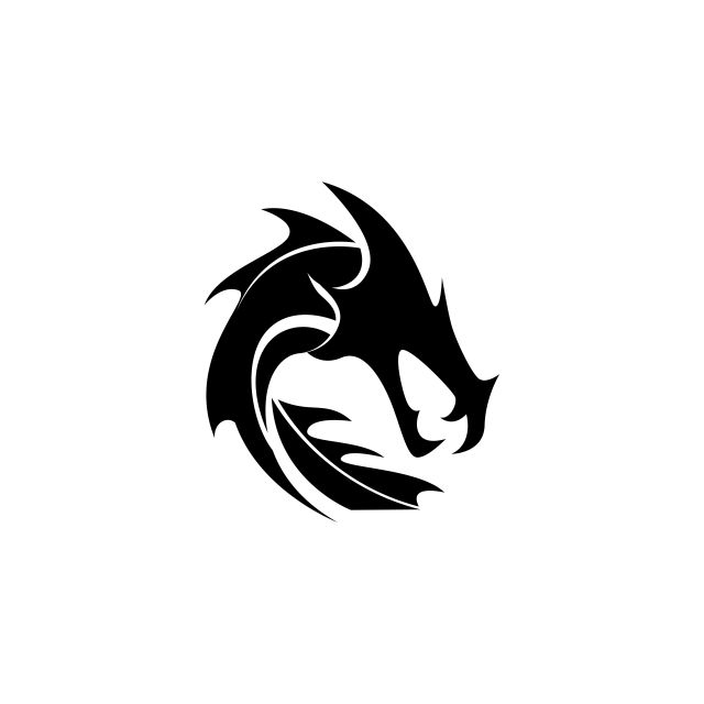 Dragon Logo Vector Illustration Icons Converter Icons Fitness Icons Maker Png And Vector With Transparent Background For Free Download Dragon Icon Logo Dragon Vector Illustration