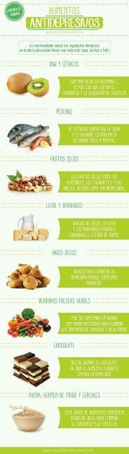 Alimentos antidepresivos