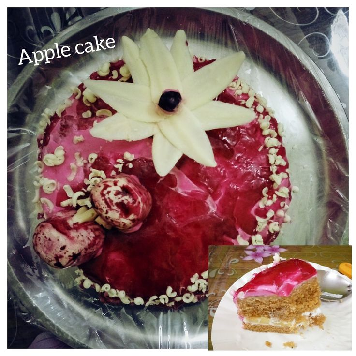 Apple cake is interesting and total hit in the family as it has apples and the taste of apple with all those little pieces of apple in the ...