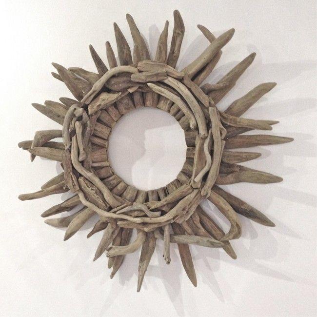 CHD21 Driftwood Door Wreath