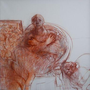 margaret woodward 'Crossed Hands', c. 2000
