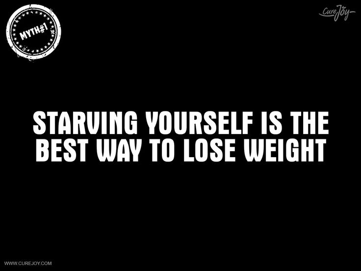 tumblr starve yourself to lose weight