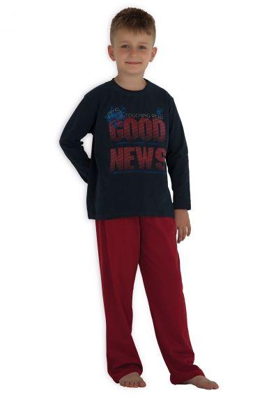 Hays Kids Penye Erkek Çocuk 2li Uzun Pijama Takımı... Daha fazlası için: www.haysshop.com