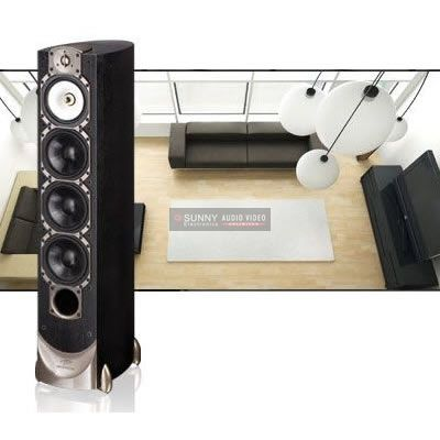 Paradigm Home Speakers Floorstanding Speakers/Towers Studio 100 v.5 (B) Embracing Paradigm's comprehensive resources and vast experience, the Studio 100 speakers offer the highest standard of technological excellence, providing breathtaking musical reproduction that captures the very essence of the original performance.