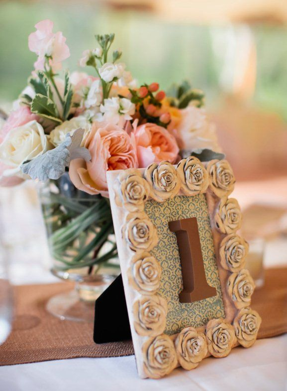 109 best images about wedding table decorations on pinterest for Glitter numbers for centerpieces