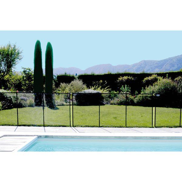 Clôture de sécurité piscine prête à poser - Maison Facile : www.maison-facile.com