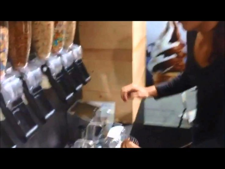 Video of the self service express gelato store with Gel Matic machines installed in occasion of MIG 2013.