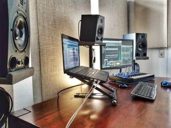 Best 25 home studio setup ideas on pinterest online recording studio home recording studio - Home studio ...