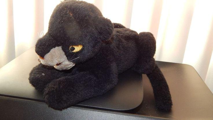"""Disney The Jungle Book Bagheera Panther Plush 8"""" Stuffed Animal Black Panther #DisneyMattel"""