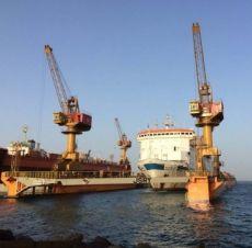Portal Jib Crane, Shipyard Jib Crane