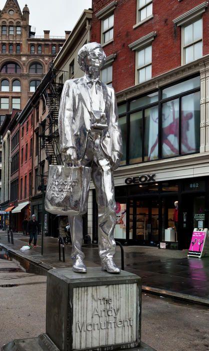 warhol statue union square - Google Search