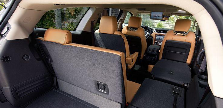 Mid-Size SUV Family SUV 2014 Traverse Interior storage