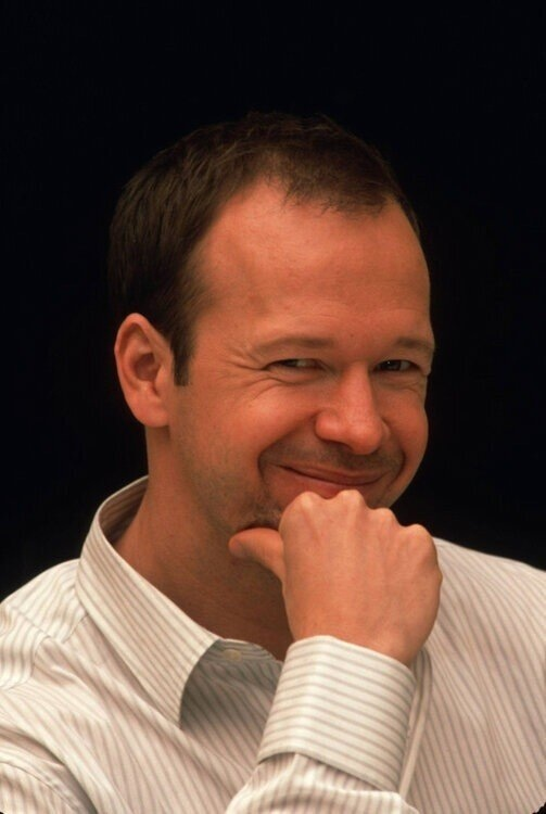Why is Donnie Wahlberg so adorable?