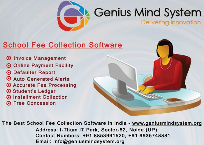 SchoolFeeCollectionSoftware is best for Invoice, Online Payment - when invoice is generated