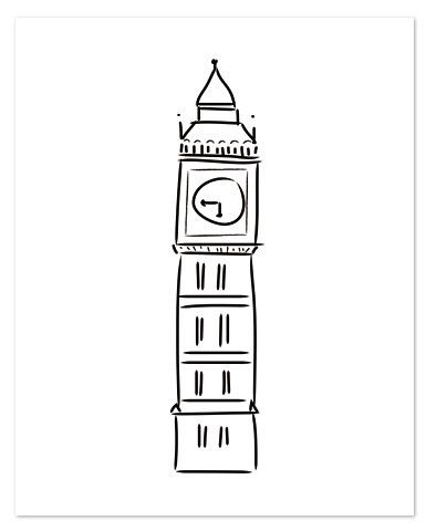 big ben doodle - photo #36