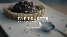 95 Secondes - Tartelette crue chocolat banane