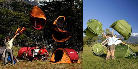 12 Strange and Creative Camping Tents - Oddee.com (camping tents)