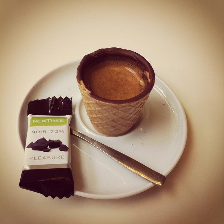 Chococup Espresso, Brandmeester's - Korte Jansstraat 5, Utrecht
