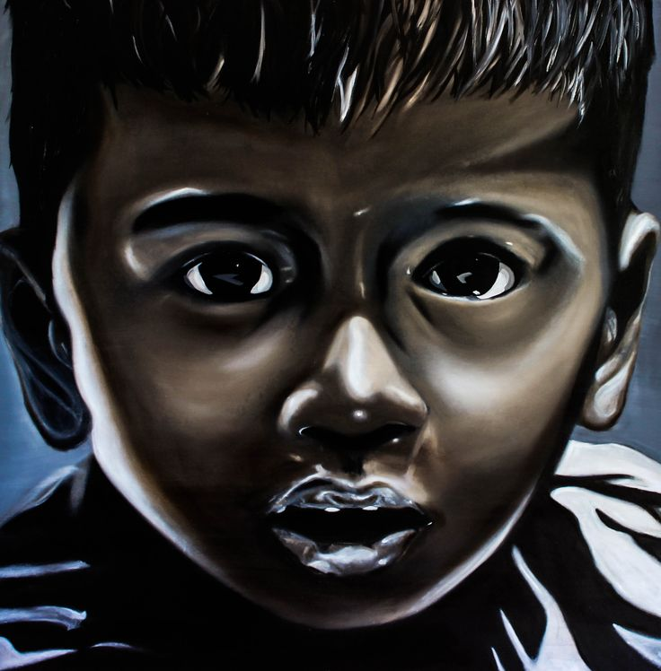 2014 The Boy from Opape Marae -  Original SOLD / Limited Edition Prints Available from www.temetemaoriart.com