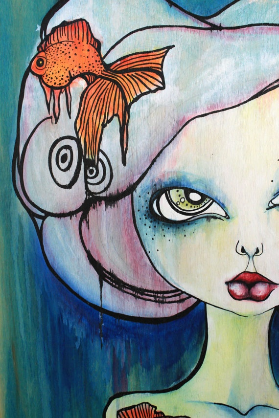 45 best easy intro painting projects images on pinterest art go fish by braidy on etsy 20000 coupon codes fishconstructionbricolagebuildingpisces fandeluxe Gallery