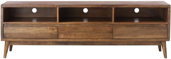 Conrad TV Stand - Mid-century Modern Tv Stand - Solid Wood Tv Stand - Mid-century Modern Furniture   HomeDecorators.com