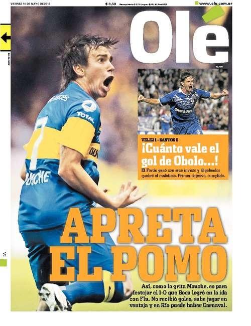 Ole | Diario Deportivo  Boca 1 vs Fluminense 0