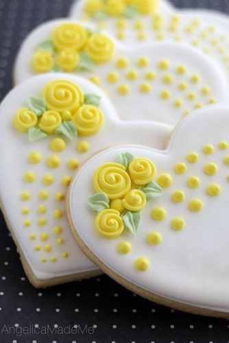 21 Ideas How to Decorate Heart Sugar Cookies and Impress Your Boyfriend ★ See…