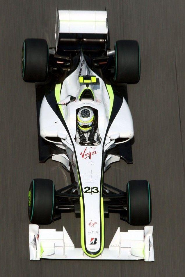 Ruben Barrichello's Brawn 2009