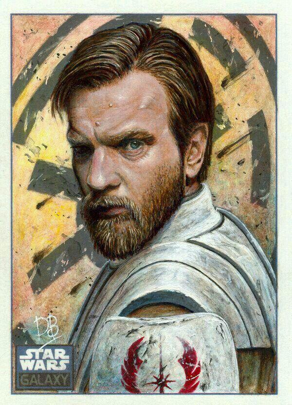 Star Wars - Obi-Wan Kenobi Artist Unknown