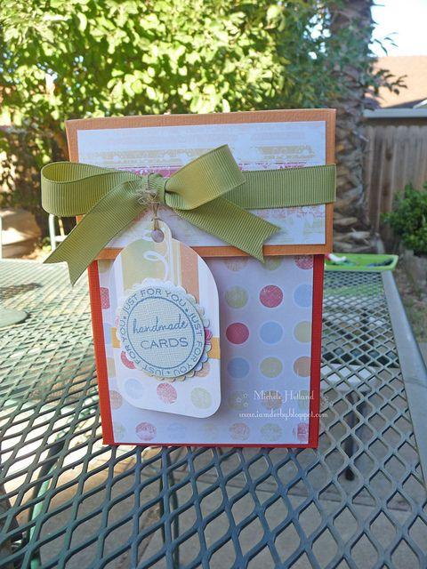 I am Derby - box tutorial for handmade cards - cute gift idea.: Cards Sets, Class Ideas, Gifts Ideas, Gift Ideas, Handmade Cards, Cards Designs