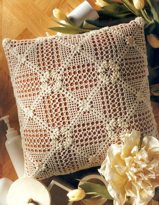 (542x699, 247Kb).  pretty pillow pattern, graphed (clearly). Like the flowers....