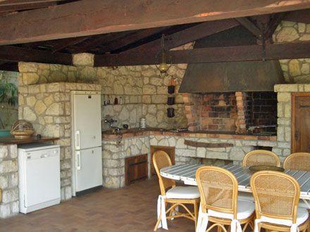 La cuisine d 39 t de la location de vacances villa for Cuisine exterieure mobile