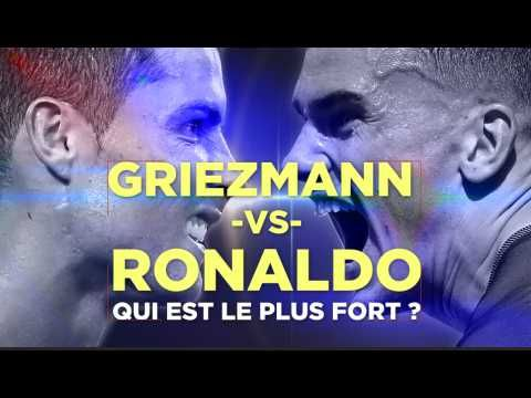 Griezmann vs Ronaldo, qui sera le plus fort ?