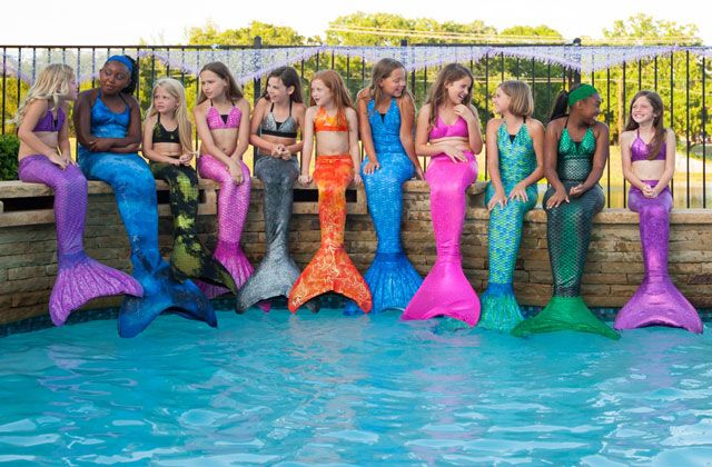 """Every Girl Deserves to Dream!"" I wish these would have existed when I was growing up! ❤️ #MermaidTails #LittleGirlsDreamsDoComeTrue"
