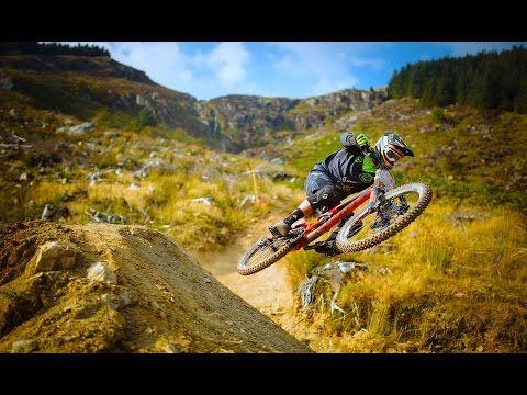 Aggressive Downhill Mountain Bike Racing - Red Bull Hardline. http://WhatIsTheBestMountainBike.com -  #WhatIsTheBestMountainBike