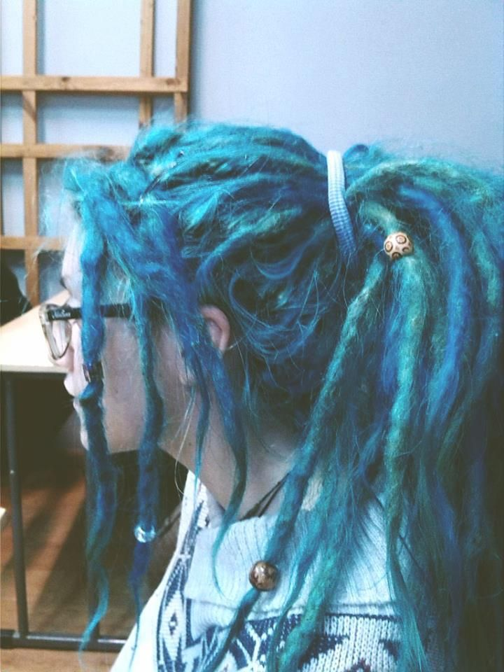 I love coloured dreads but I dunno!