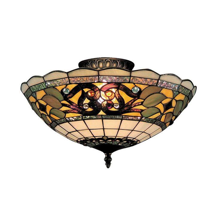 The 25 Best Tiffany Ceiling Lights Ideas On Pinterest