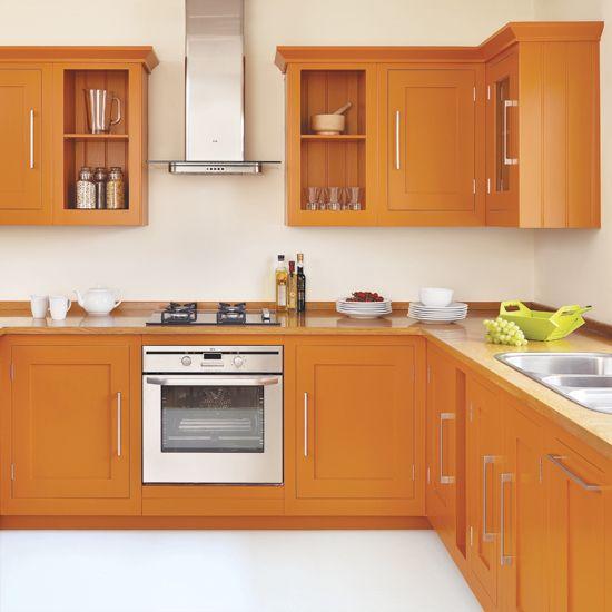 Best Bright Orange Kitchen Decorating Beach Kitchen Decor 400 x 300