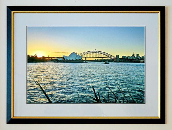Framed Photo Enlargement