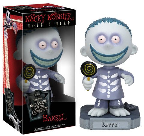 Wacky Wobbler: The Nightmare Before Christmas - Barrel | Funko