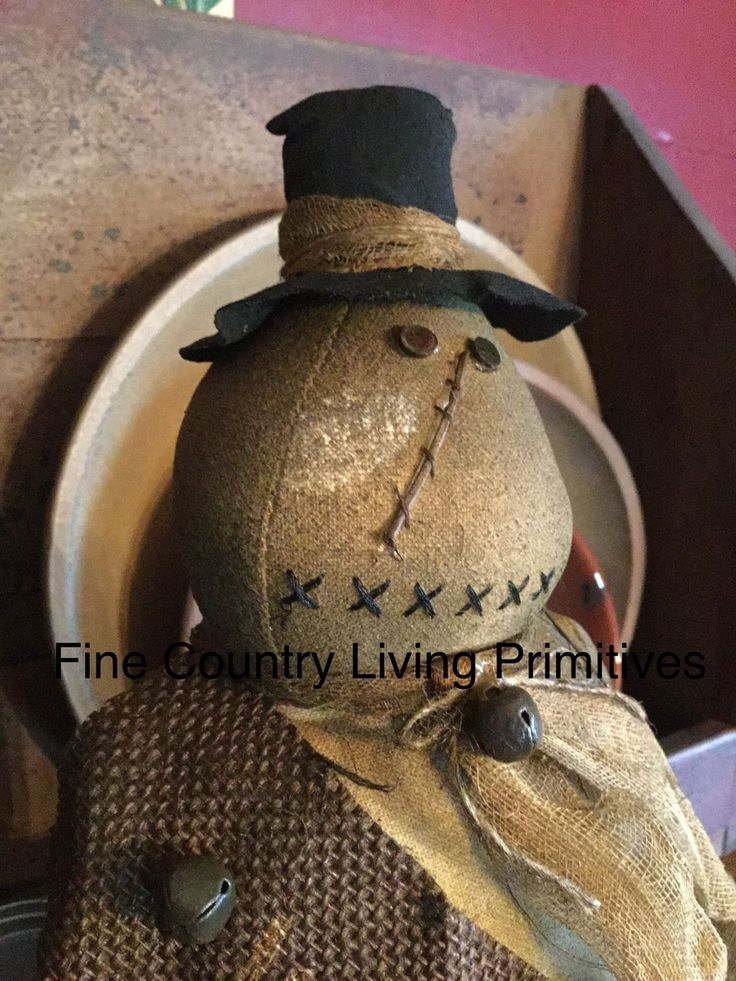 Christmas and Winter - Fine Country Living Primitives - Primitive Colonial Country Home Decor