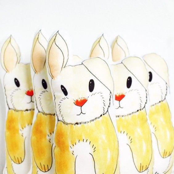 Rebecca Kiff Bunny Softie - Rebecca Kiff - Shop by Brand - Ragamuffins New Zealand
