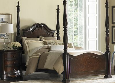 havertys sutton place 4 poster bed bedroom furniture