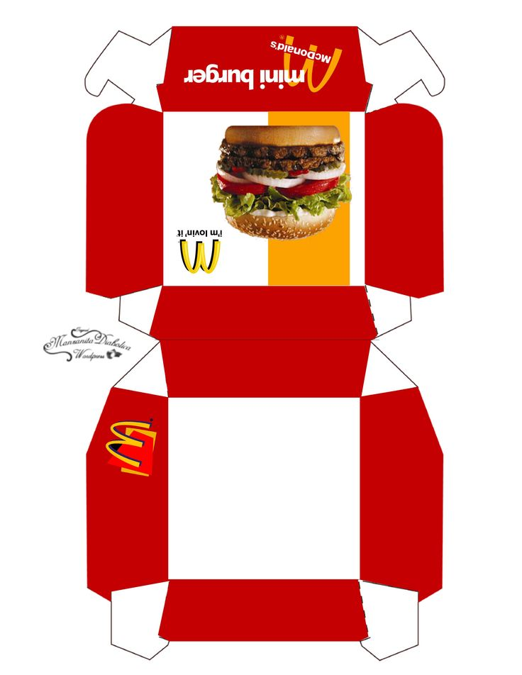 burger box template pdf 2