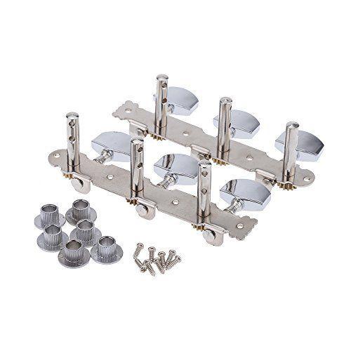 mylunn (TM) Lot de 2(gauche + droite) toutes les clés d'accordage pour guitare classique en acier pinces à linge electroplating Tuner…