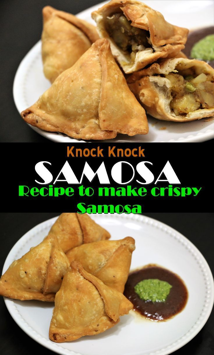 A Samosa is a fried or baked pastry with savory filling. Samosa is usually accompanied by a mint chutney and sweet chutney. It is very popular entree, appetizer or snack. Now a day's Samosa is very popular all over the world. Samosa is very easy to make. But it requires patience and practice. It took me few failures to get a perfect flaky and crispy crust. Here is the recipe of making perfect flaky and crispy samosa crust without tiny air bubbles.