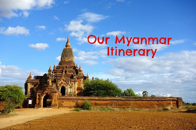 Our Myanmar Itinerary! From Mandalay to Monywa, Bagan, Kalaw, Inle Lake and Yangon.